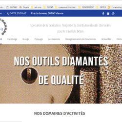Nouveau site outils diamantes Romanet Diamant